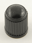 Black Tire Valve Caps